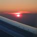 airborne sunset