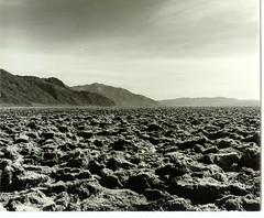 Devils Golf Course,Death Valley,Mamiya C330 Feb 1981  417-7 --- 2-19-81
