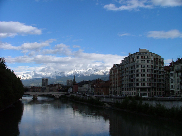 grenoble from porte de grenoble from le pont de la flickr