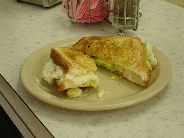 Egg & Olive Sandwich, Trowbridge's, Florence AL