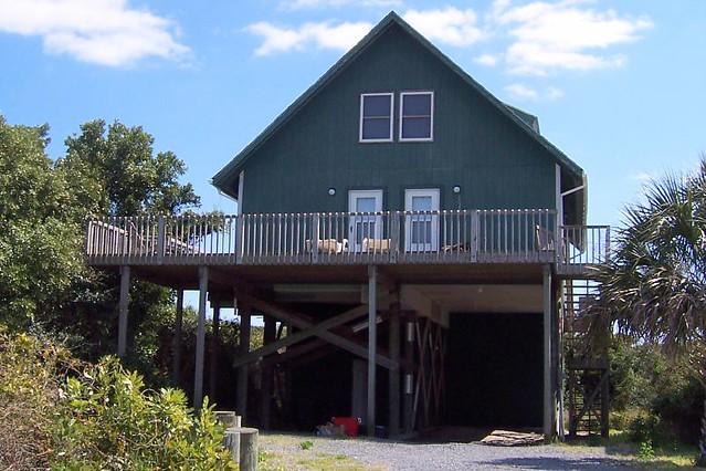 Houses On Stilts On The Big Island Hawaii Volcano Proof