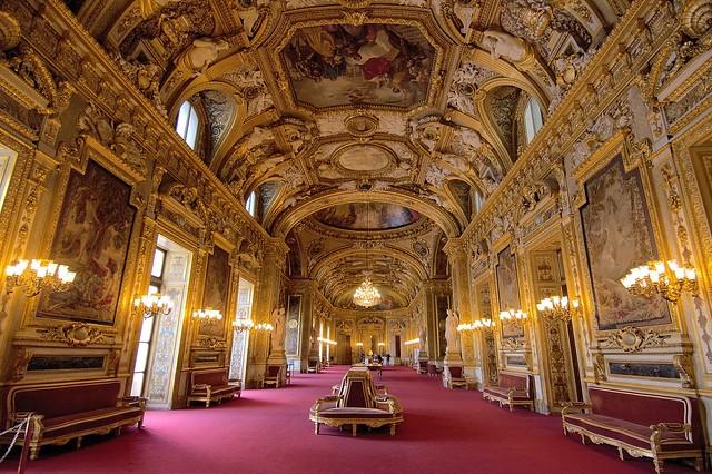 Grand Foyer Palais Du Luxembourg : Paris senate palais de luxembourg got an unexpected