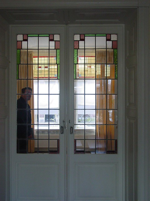 Can You Say Stained Glass Pocket Doors Aaron Tyo Dickerson Flickr