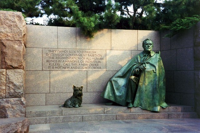 Dc Franklin Delano Roosevelt Memorial The Franklin