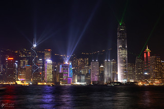 Hong Kong Light Show | by Steve Webel