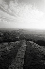 Glastonbury Tor path | by Trevor Hare