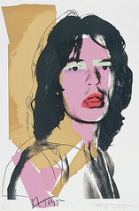 Andy Warhol - Mick Jagger  1975 | by oddsock