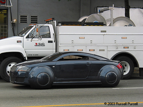 All Car Company >> i-Robot Audi TT | i-Robot Audi TT- Cool. i-Robot set, Vancou… | Russell Purcell | Flickr