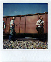 trainspotting, polaroid style | by massdistraction