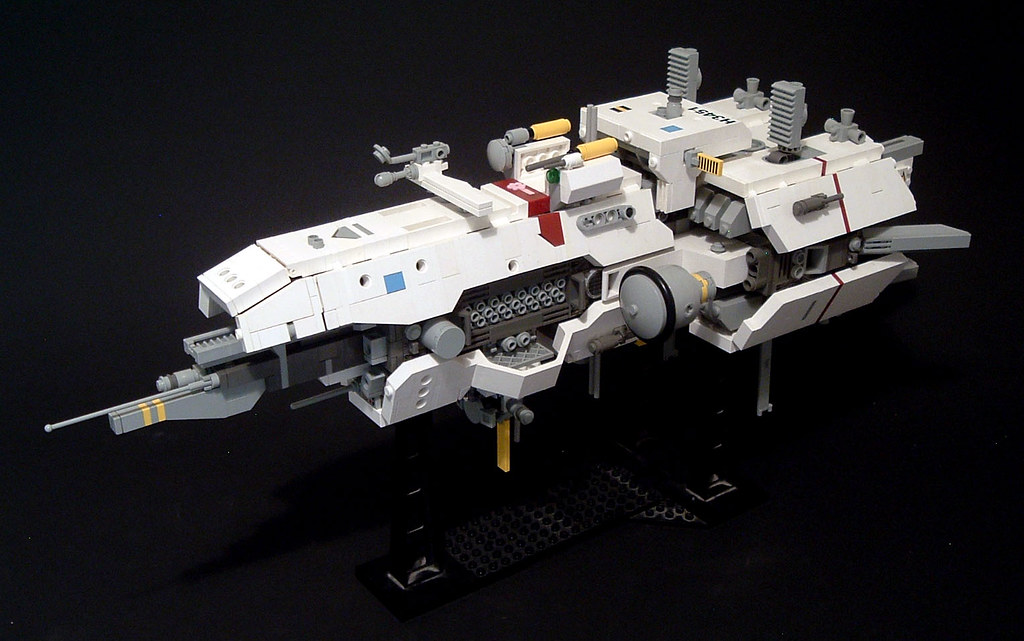 Build A Starship Out Of Legos