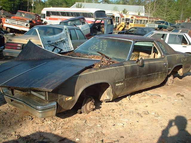 1977 oldsmobile cutlass supreme flickr photo sharing for 1977 olds cutlass salon for sale