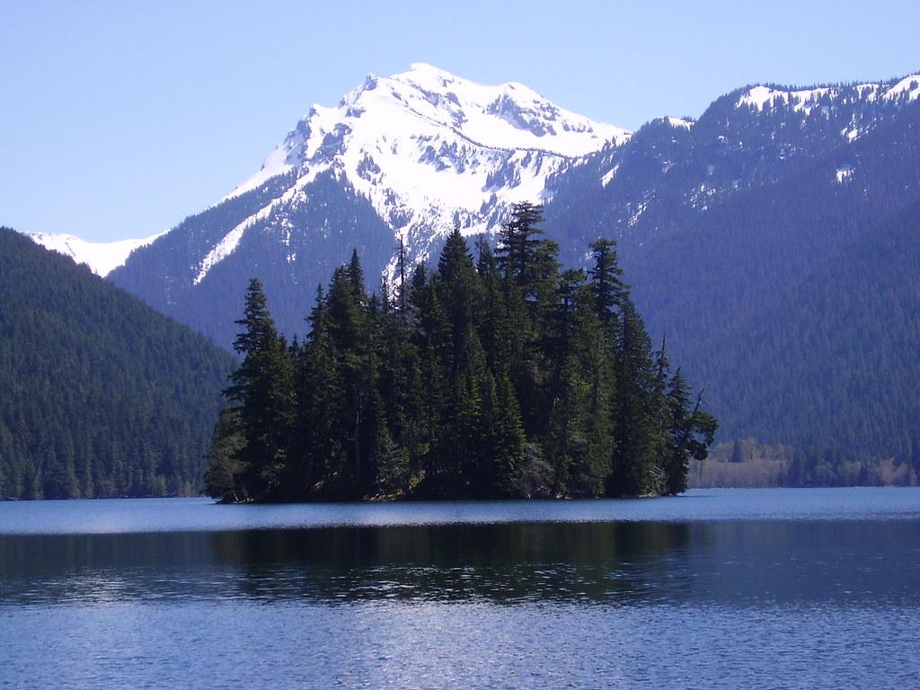 Johnson Peak Packwood Lake Agnes Island Wa Packwood