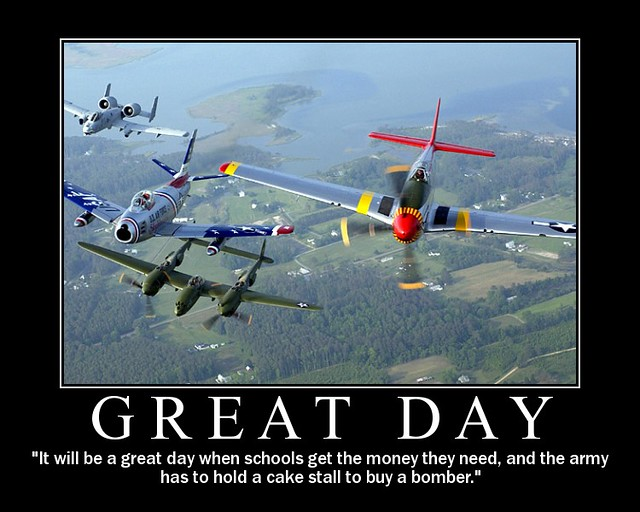 Great Day Bomber Cake Stall Text Is A Modified Version