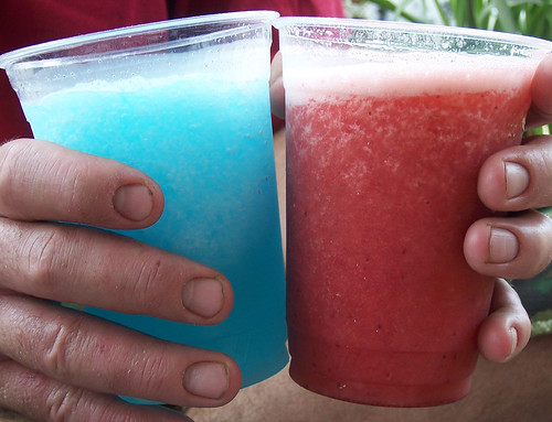 flickr colors fruit slushies | by getthebubbles
