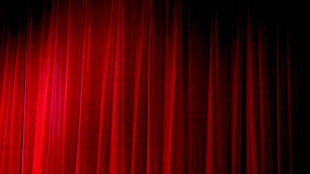 The Red Curtain | Behind which, we know not. Terry Bain &raq… | Flickr