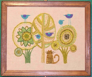 crewel embroidery | by beeblecat