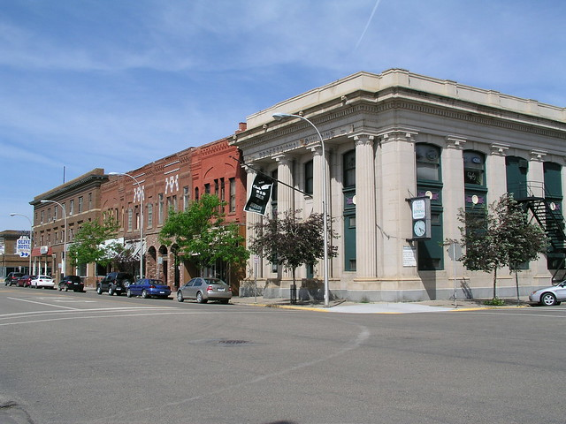 500 block of main street miles city mt flickr photo