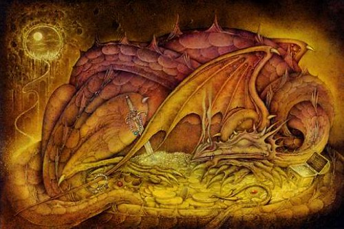 Wayne Anderson Dragon Hoard From The Book Quot Dragons