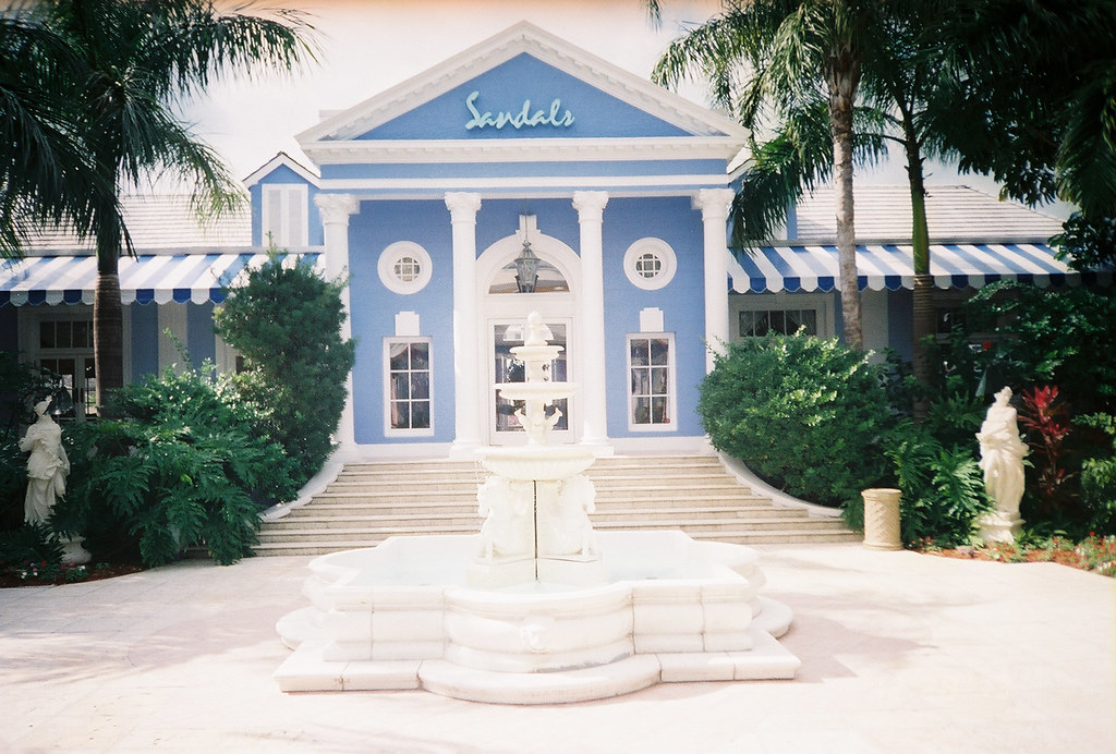 Which Sandals Resort Has An Island