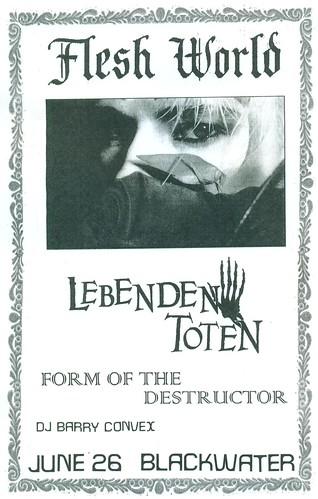 6/26/15 FleshWorld/LebendenToten/FormOfTheDestroyer