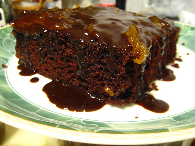 The Vegan Table: Chocolate Cake with Coffee Ganache