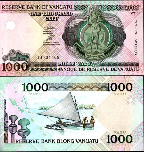 1000 vatu Vanuatu 2002 (2011)