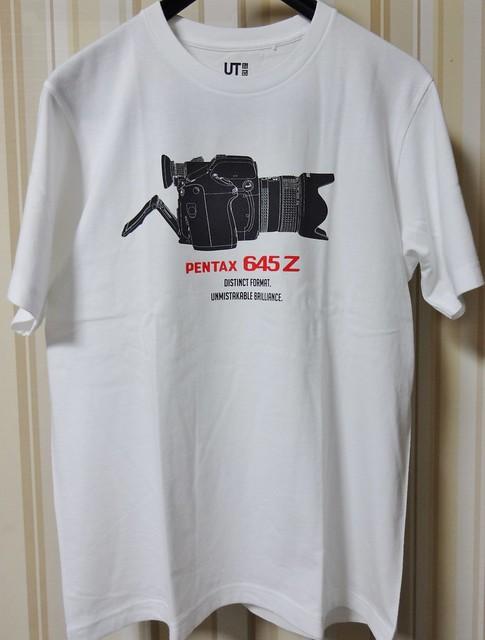 ユニクロ PENTAX Tシャツ #1