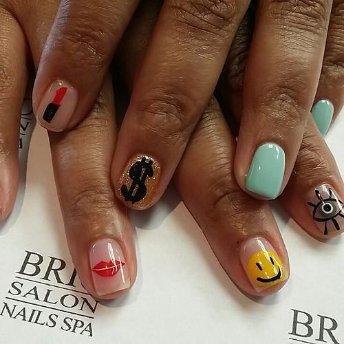 Nails art briospa nails naildesigns nailart designs for 3d nail art salon new jersey
