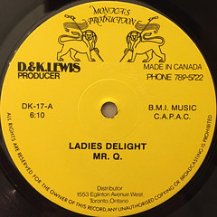 MR.Q:LADIES DELIGHT(LABEL SIDE-A)
