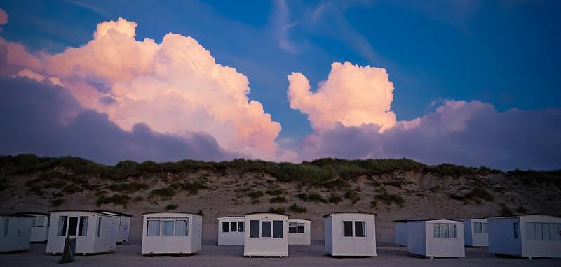 Strandhäuser in Løkken