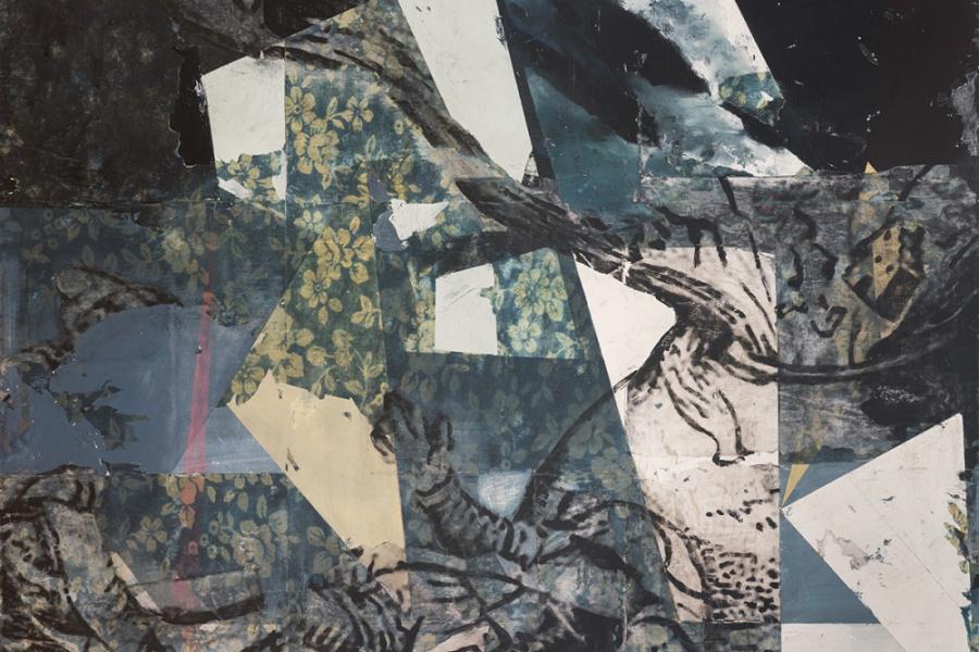 Paintings by Kenichi Hoshine