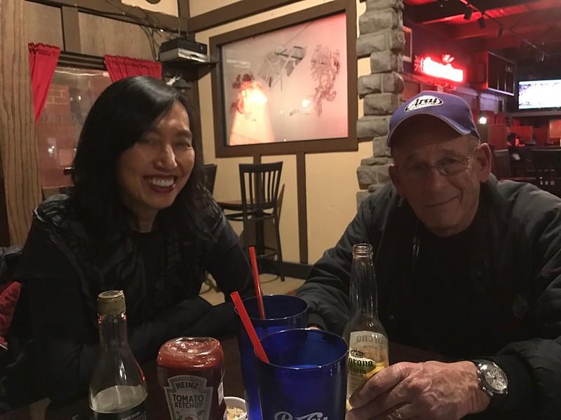2017-01-26 Club Dinner Meeting @ The George & Dragon Pub