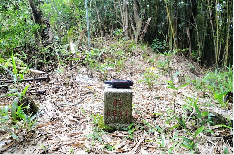 南勢山三等三角點(# 6631 Elev. 1038 m)