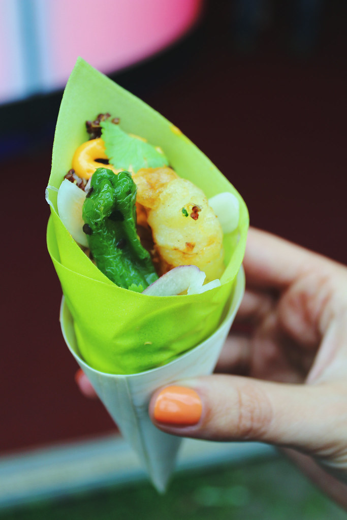 Taste of London Sushisamba Shrimp Tempura Quinoa