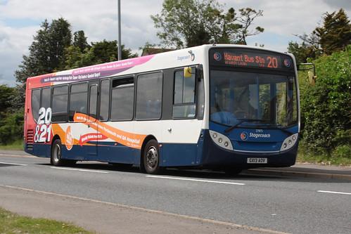 Stagecoach South 27875 GX13AOV