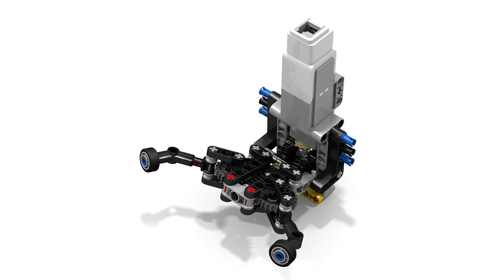 Lego far gripper arm tool by orlando 2k here is a render for Ev3 medium motor arm