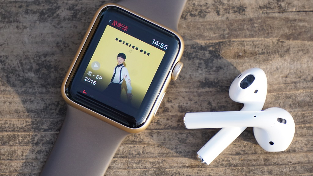 Apple Watchとも相性が良い「AirPods」