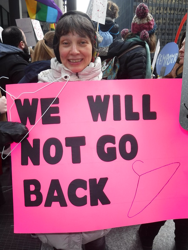 "Rally for Choice - ""We Will Not Go Back"""