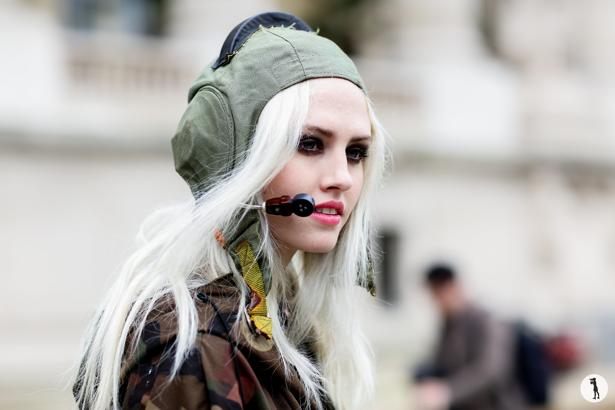 Model Charlotte Free - Paris Fashion Week RDT FW15-16 (3)