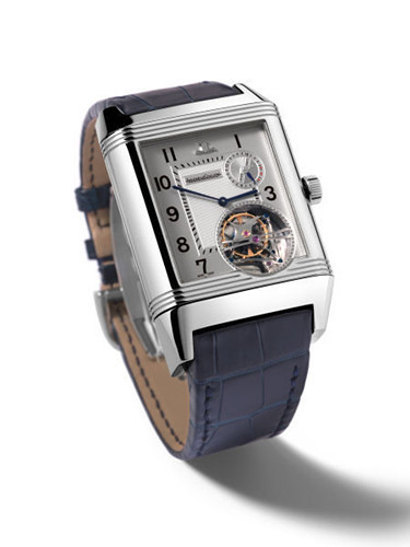 LeCoultre Grande complication features three-sided Flip wrist watch
