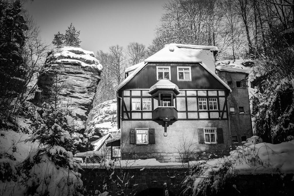 Amselgrund, Amselfall und Hohburkersdorfer Rundblick