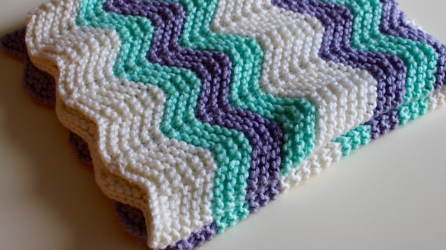 Baby girl Croxton's blanket