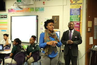 President's Tour - JEROME DUNN ACADEMY NO. 9 - 2/13/2017