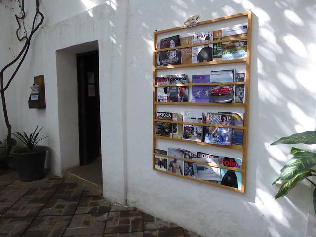 Biblioteca del Instituto de Artes Graficas (IAGO), Oaxaca, Mexico
