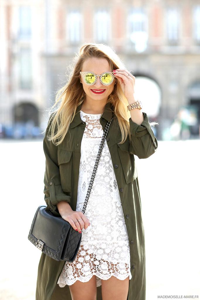 Street style shooting, fashion blogger, Paris.