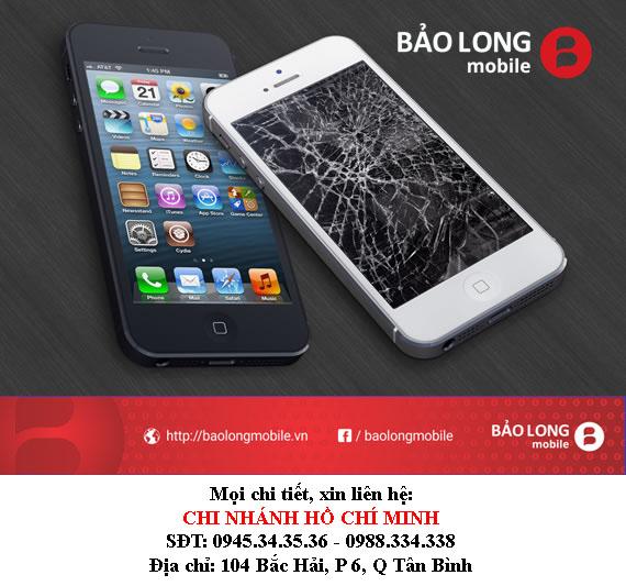 Thay màn hình iPhone 5 - Chỗ nào trong TP.HCM dùng màn hình chất lượng