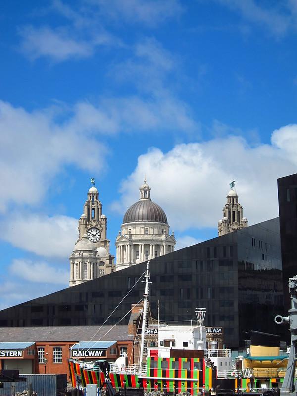 View from Albert Dock