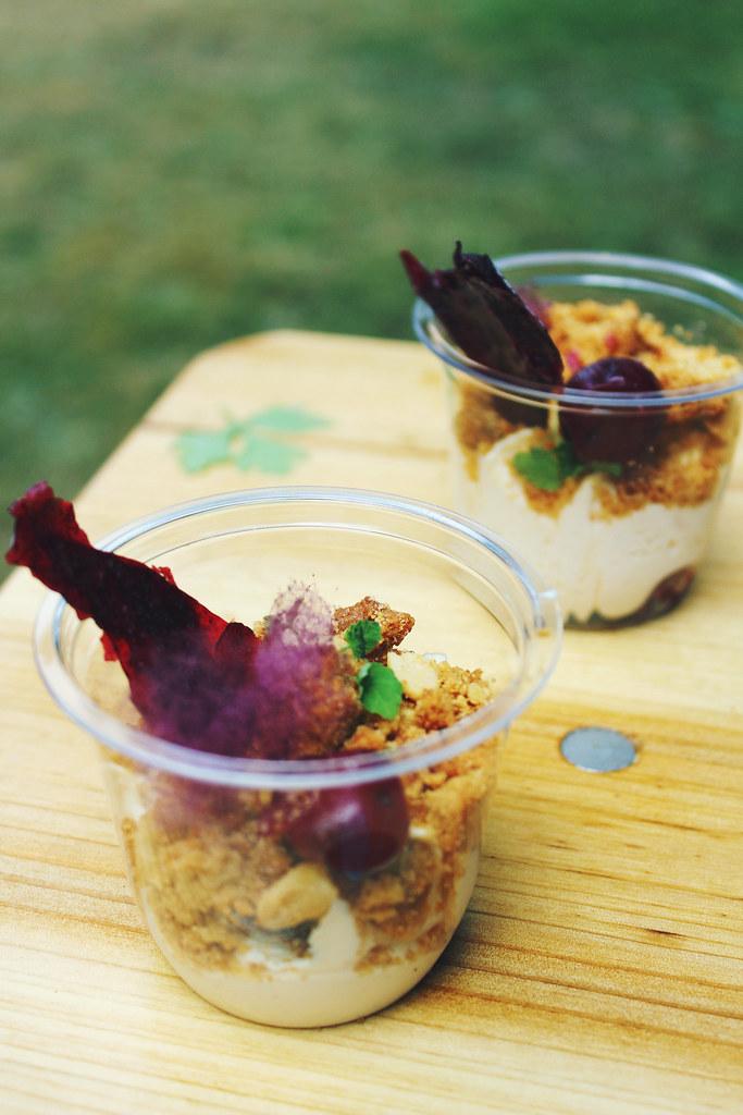 Taste of London Barbecoa Peanut Butter Cheesecake