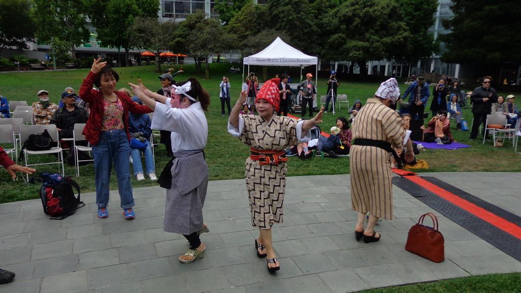 Okinawan Folk Ensemble Yerba Buena Gardens Festival Flickr