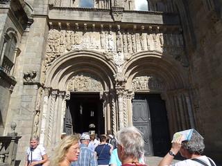 Puerta de Platerías o Puerta Meridional